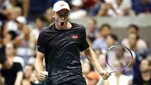 Joy as Millman beats Federer - with pics