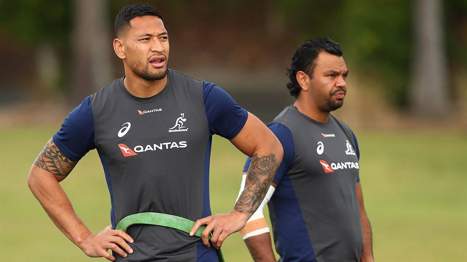 Pic special: Foley out and Folau in as Wallabies prepare for South Africa