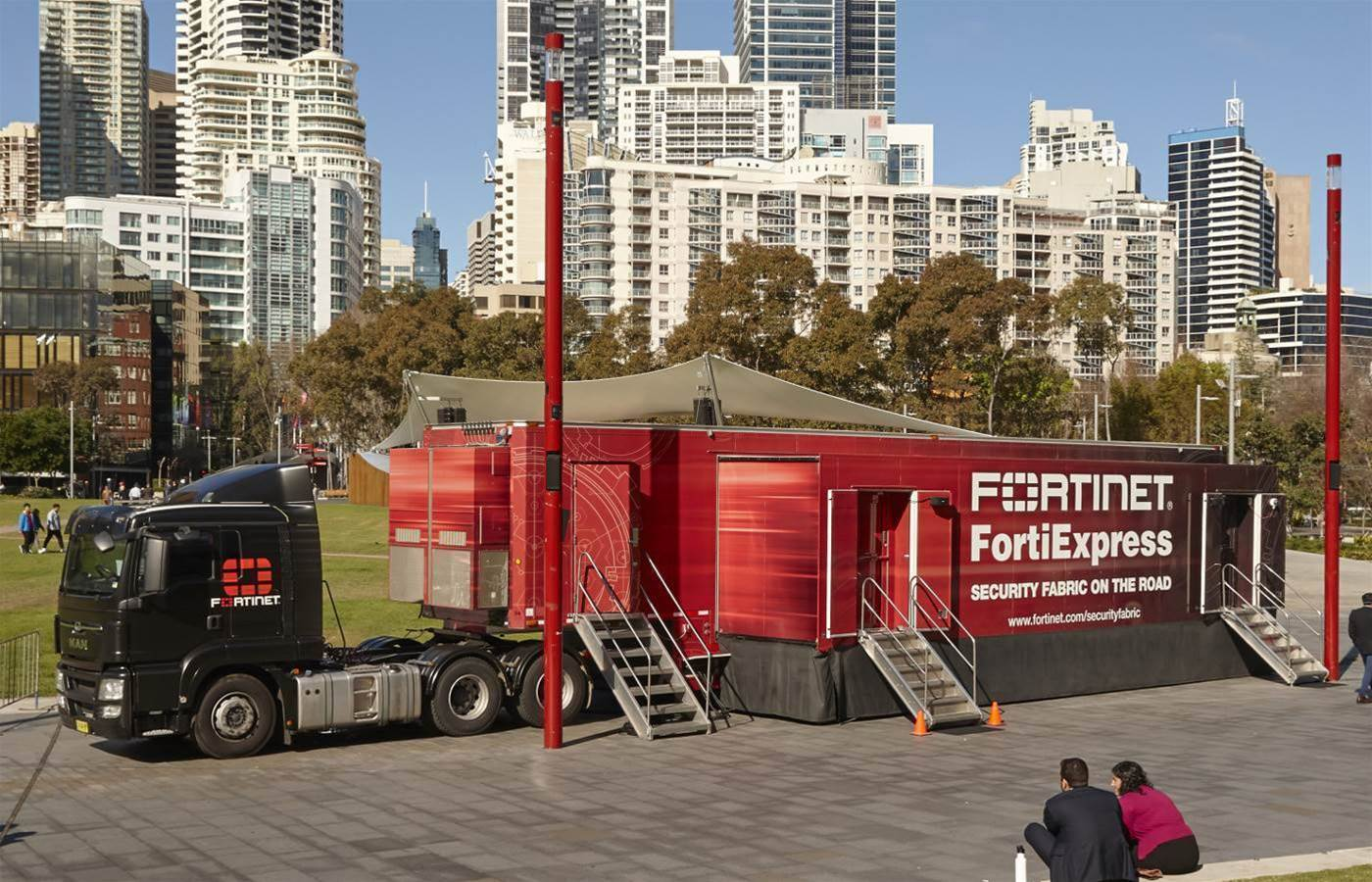 Fortinet brings FortiExpress truck to Australia