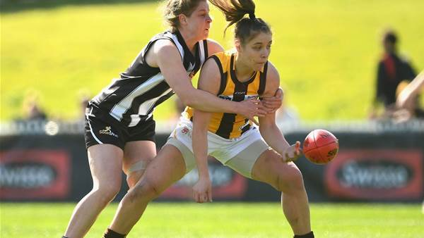 In pics: How the Cats and Hawks took a step closer to the VFLW grand final