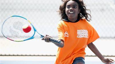 In pics - legend hails landmark tennis tournament