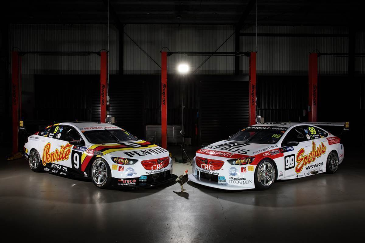 Reynolds aims to fly like Chickenman in Supercars Sandown retro round