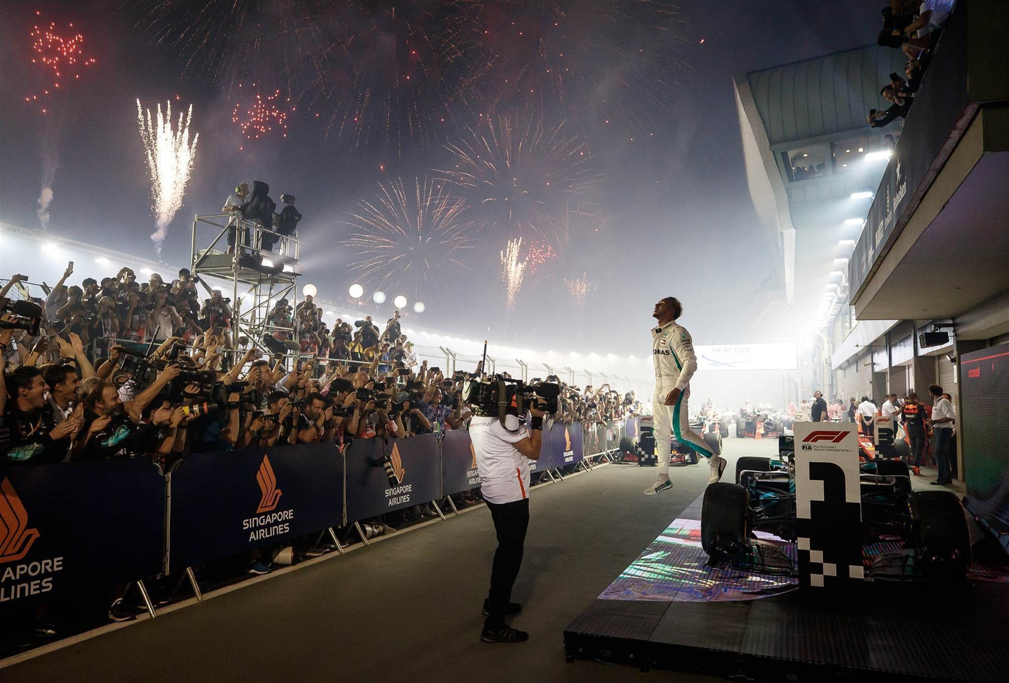 Pic gallery: Singapore Grand Prix