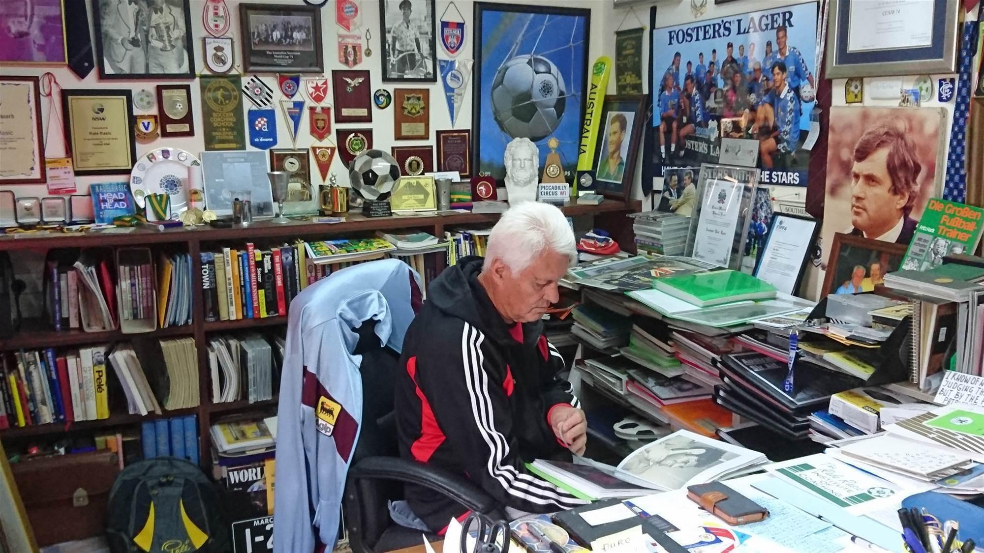 Rale Rasic's vision for Oz football...