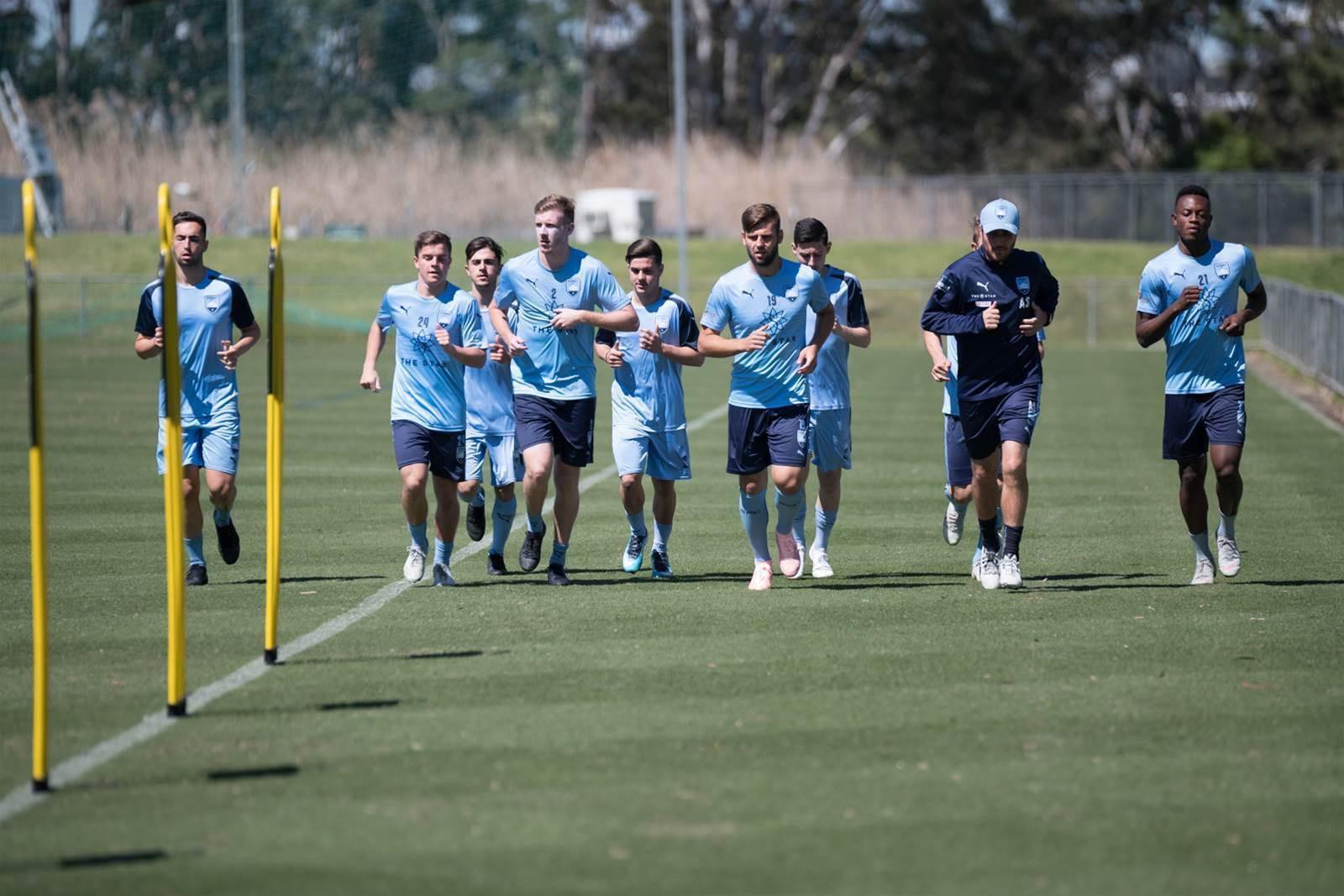 Pic Special: Sydney's next gen stars train