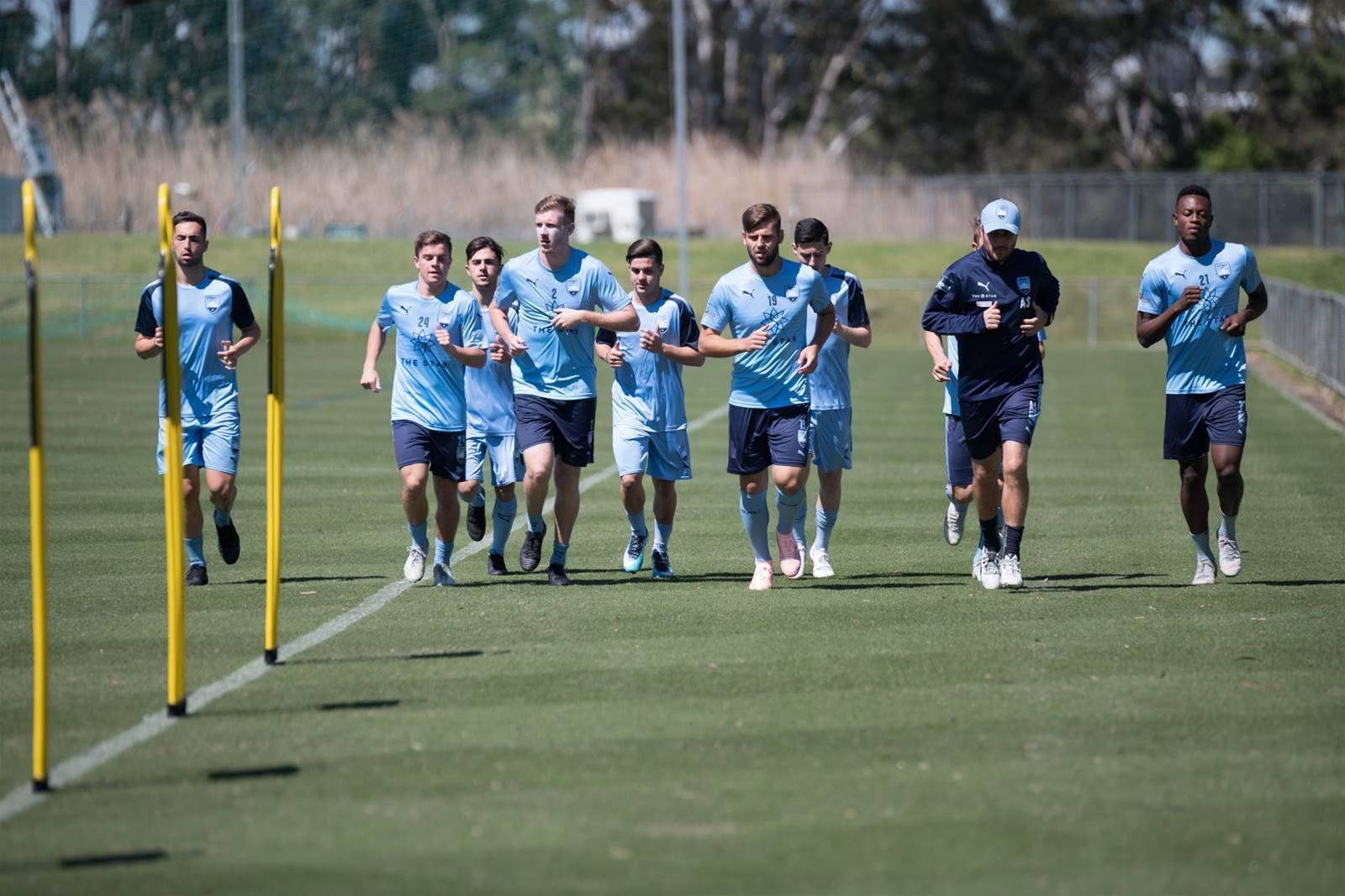 Pic Special: Sydney's next gen stars train