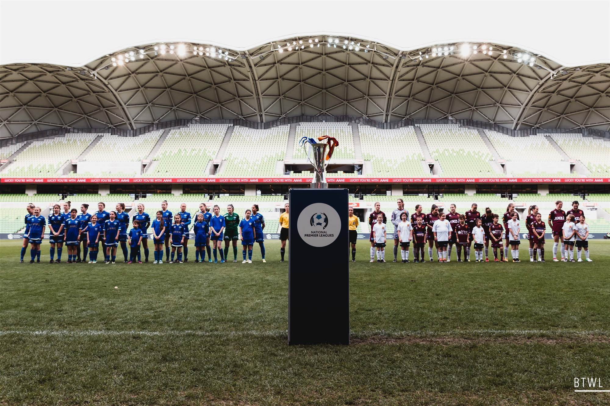 W-League Players in the NPLW Grand Final