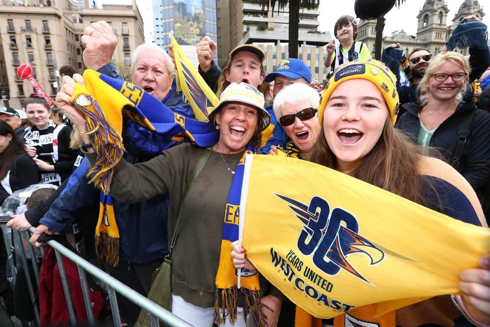 Pic Special: Don't rain on our Grand Final parade!