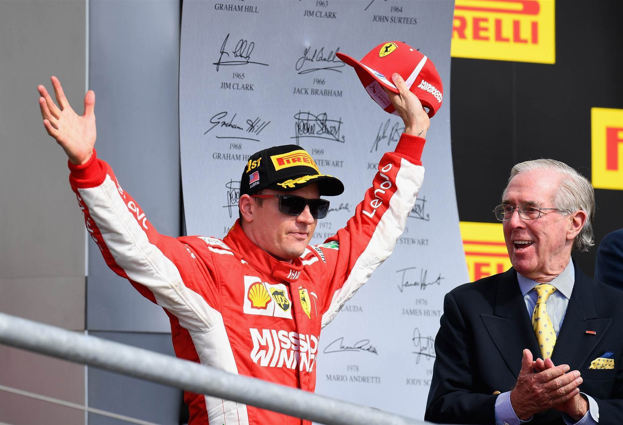 Pic special: Raikkonen's US GP breakthrough