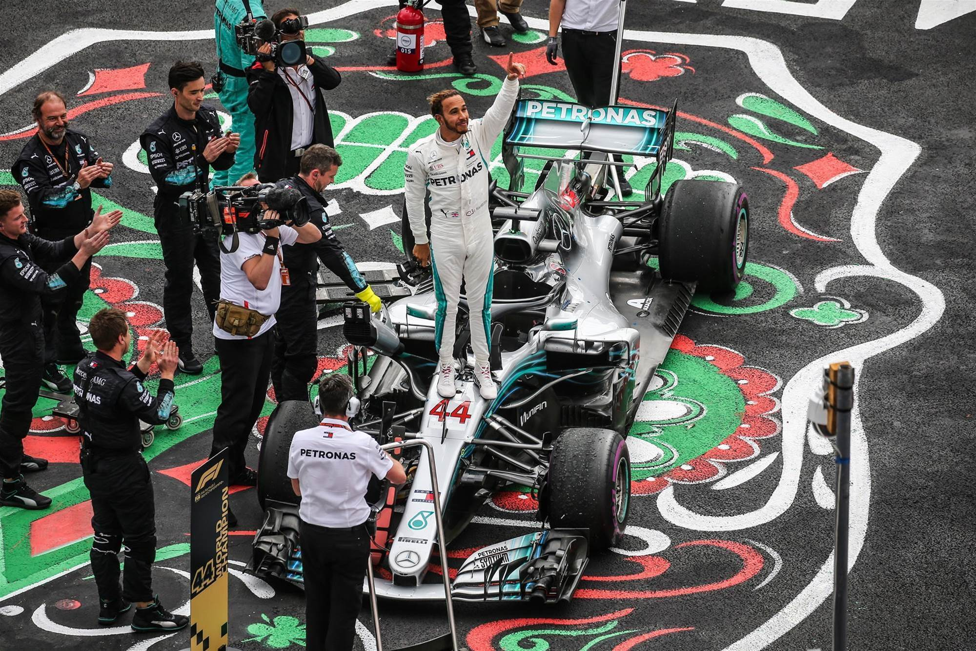 Pic special: Lewis Hamilton's fifth world championship crown