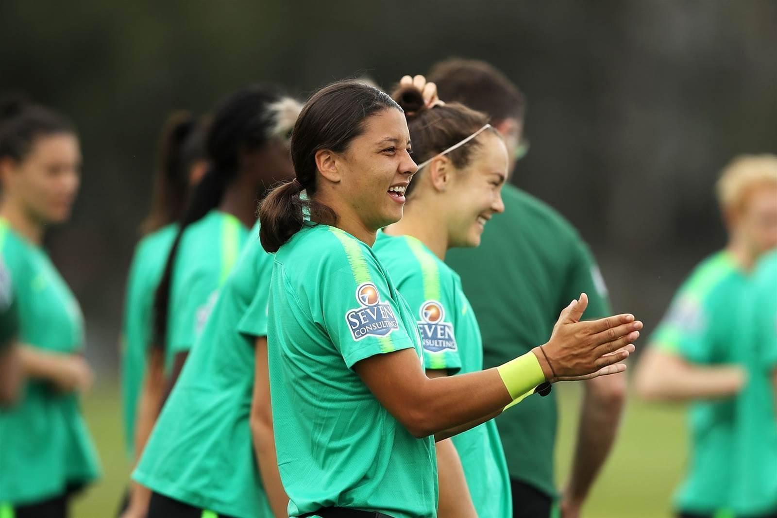 Pic special - Matildas prepare for Chile