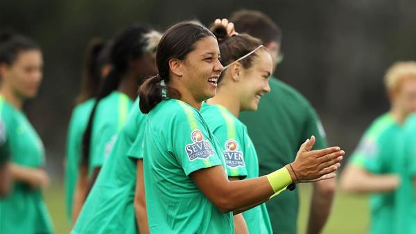 Pic special - Matildas prepare for Chile