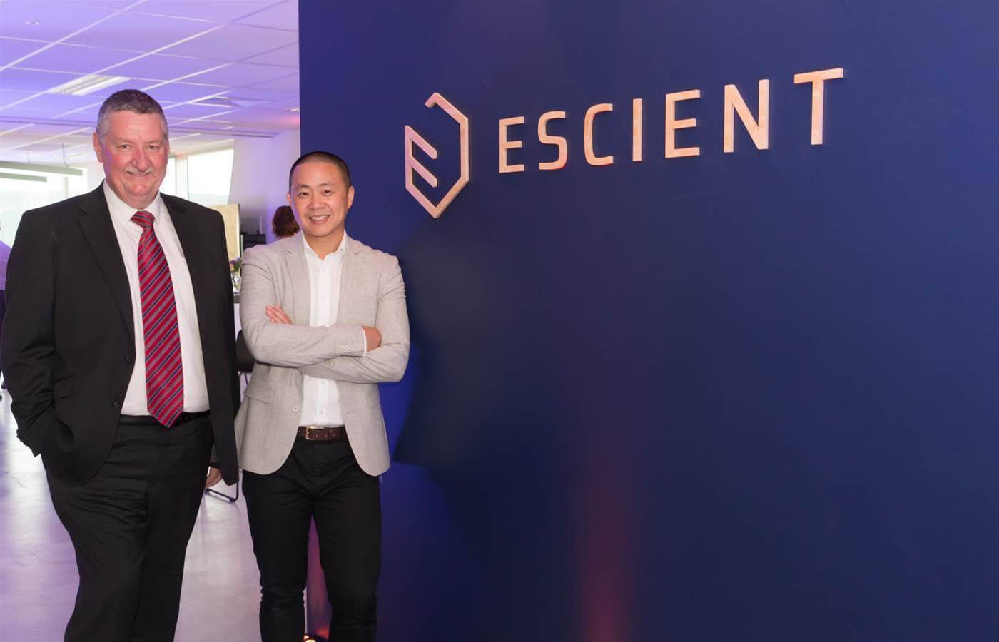 Clients join Escient in new branding reveal