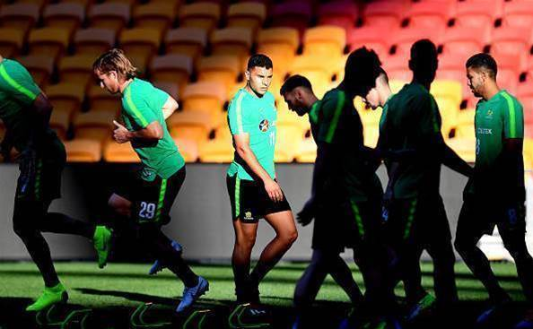 Pic special: Roos ready for Korea clash