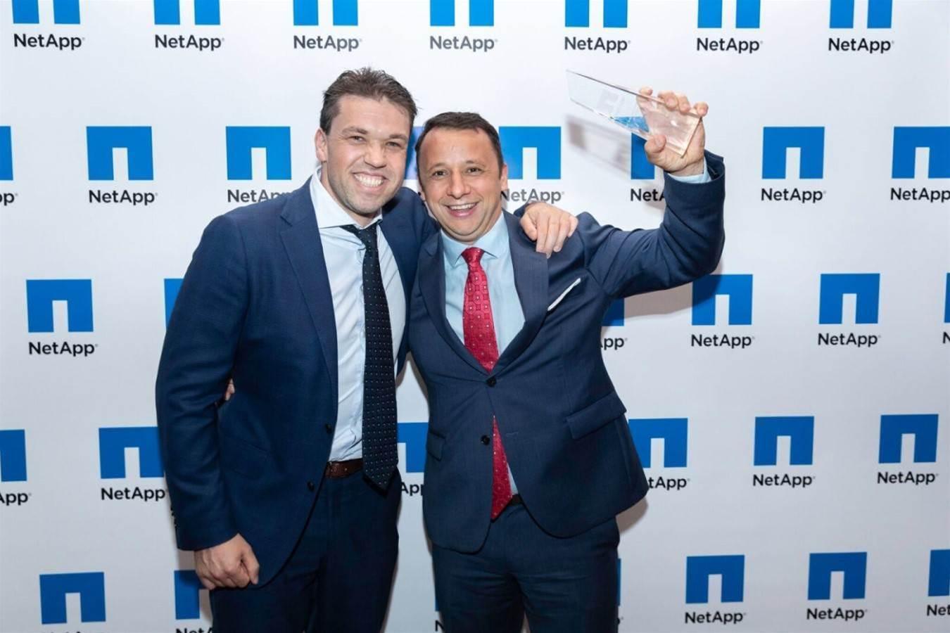 NetApp's finest hoist Partner of the Year prizes