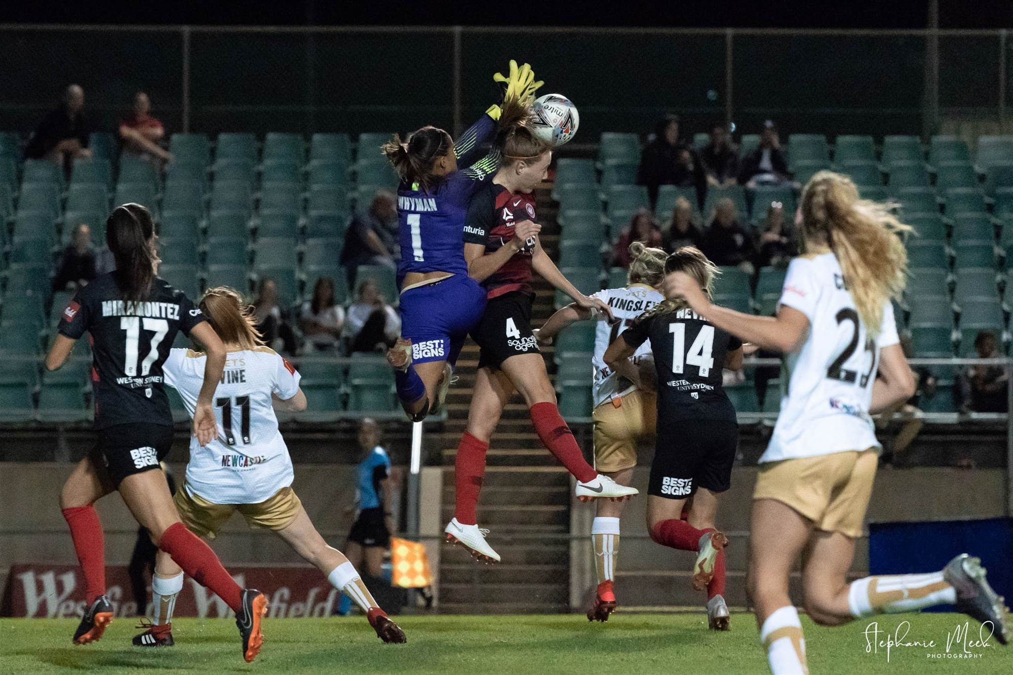 W-League action: Western Sydney Wanderers v Newcastle Jets pics