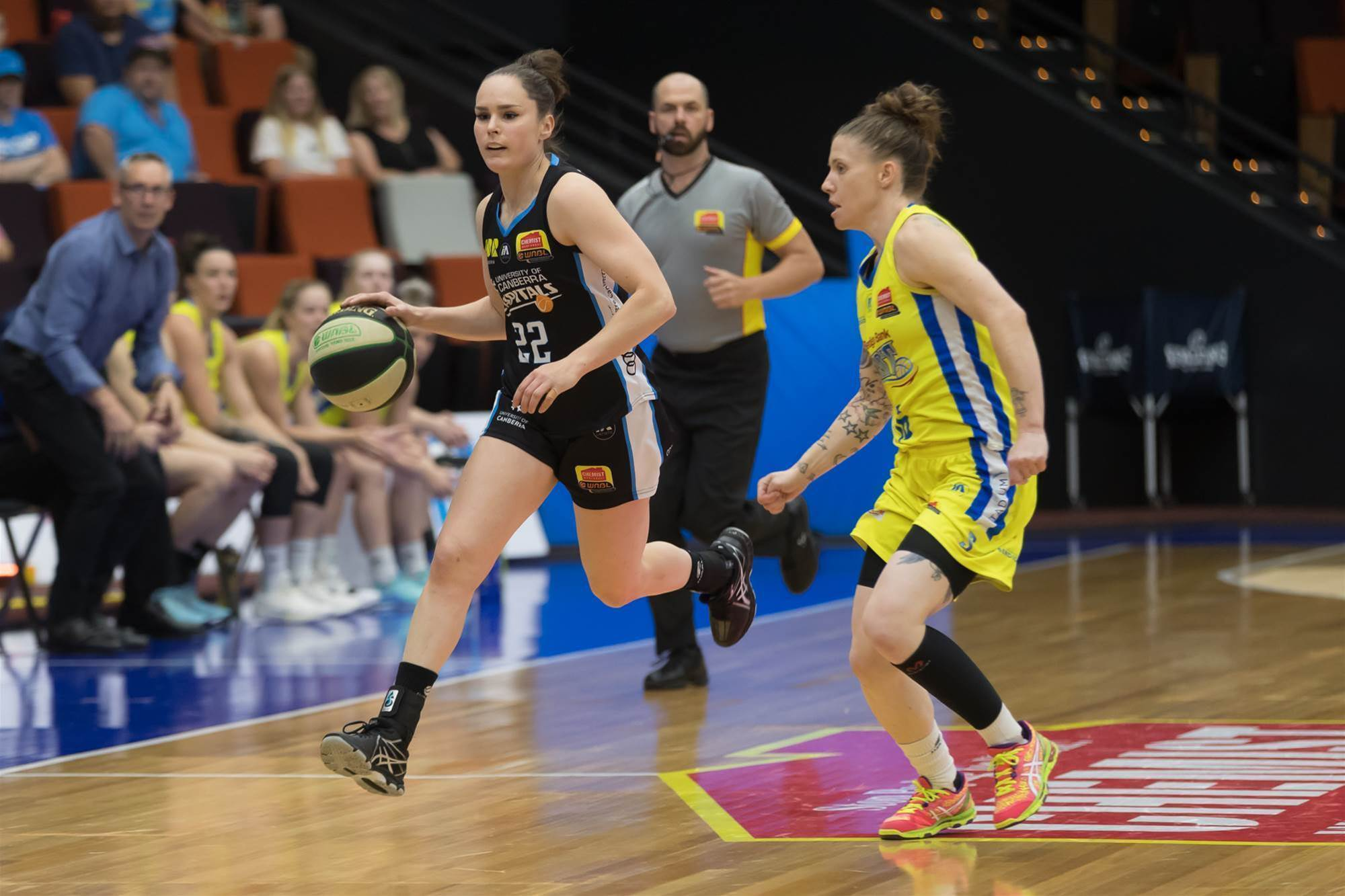 WNBL pics: Capitals vs Spirit