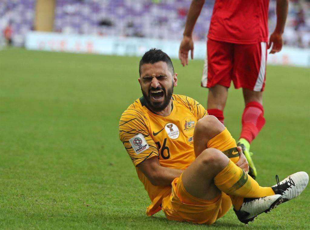 'It's hurting me': Socceroos pic special