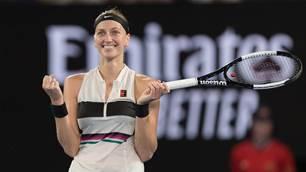 Pic special: Petra Kvitova vs Danielle Collins - Semi Final - Australian Open