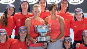 Pic special: Women's Doubles Final - Australian Open