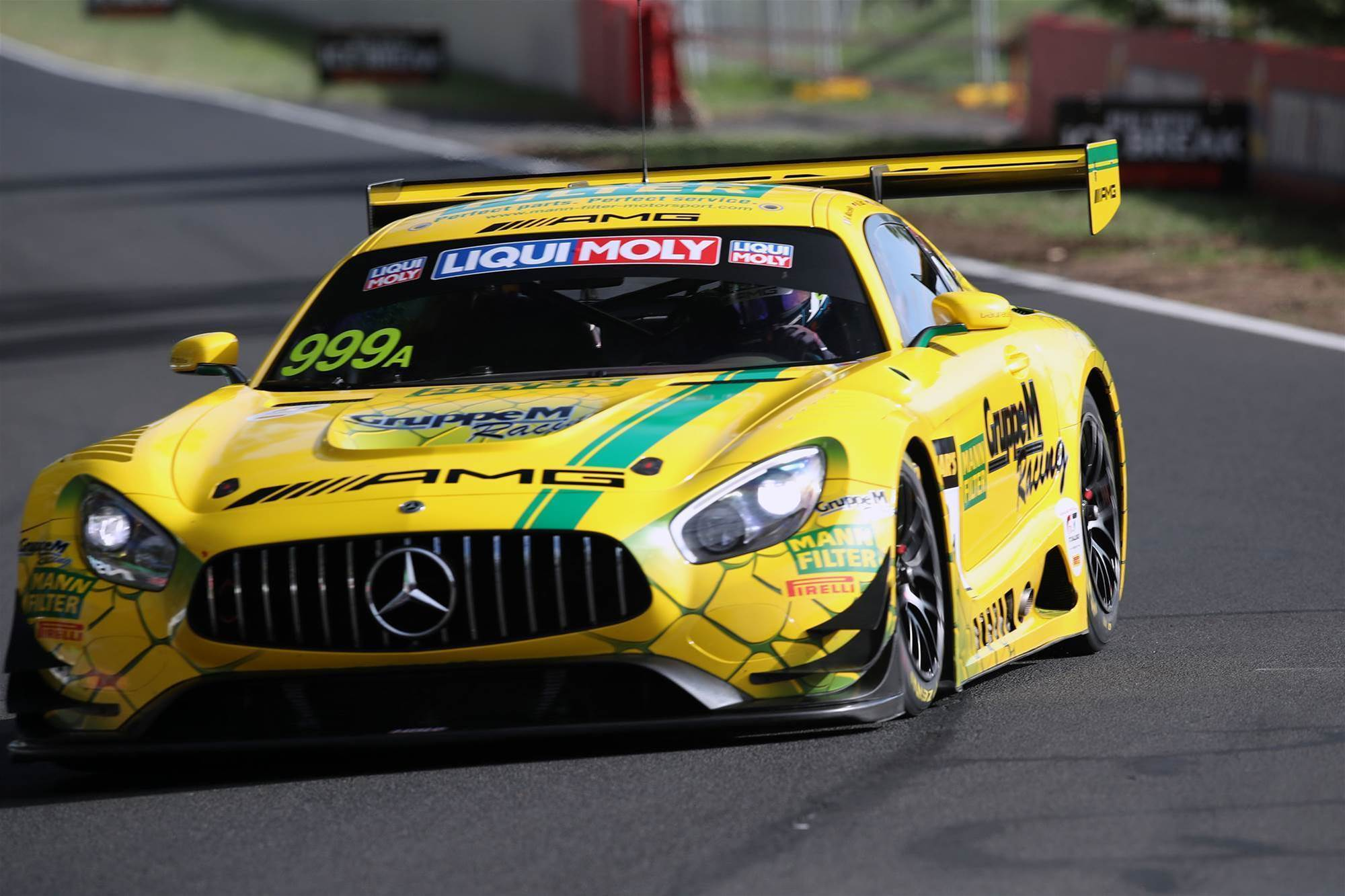 Mercedes takes 12 Hour pole