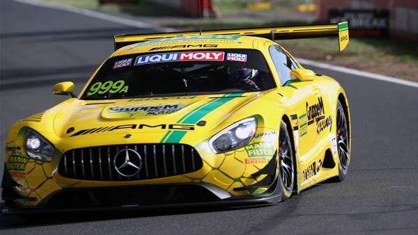 Mercedes takes 12 Hour pole