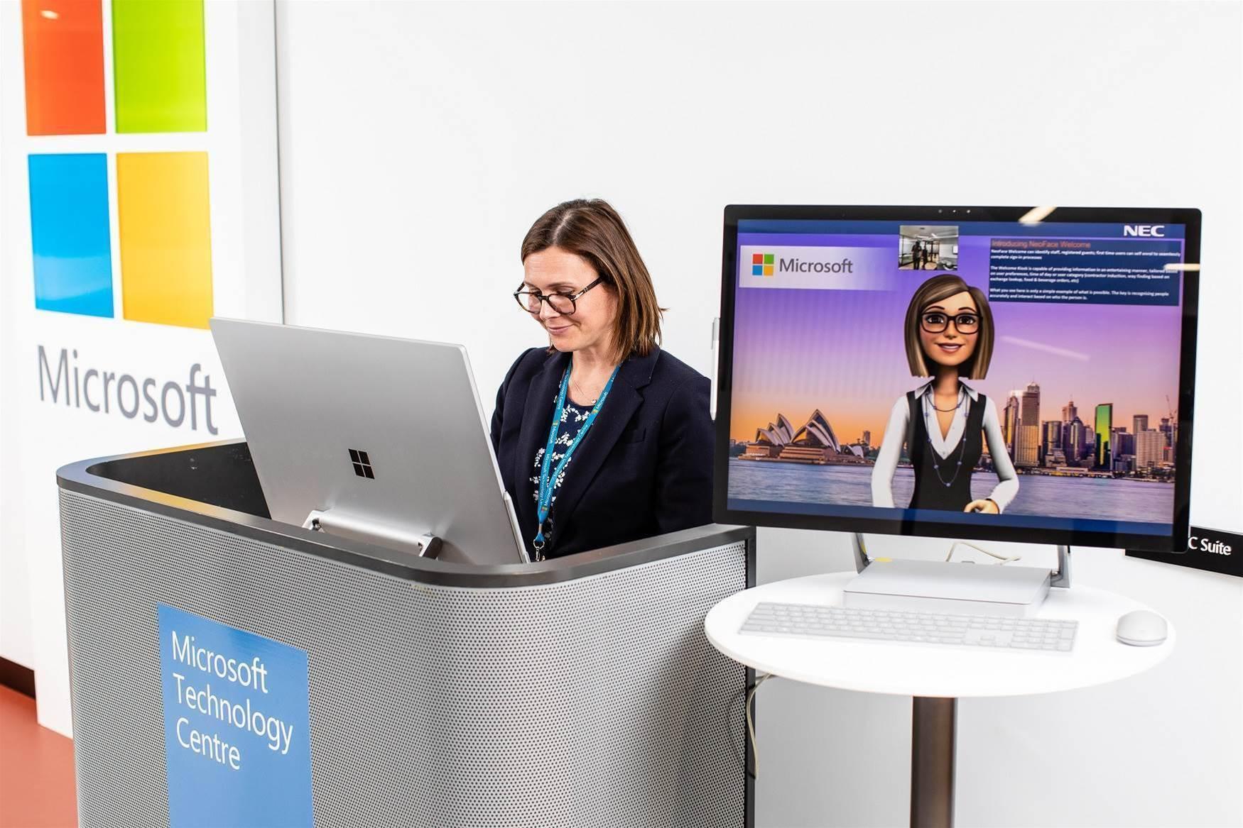 Inside Microsoft's new technology centre in Sydney CBD