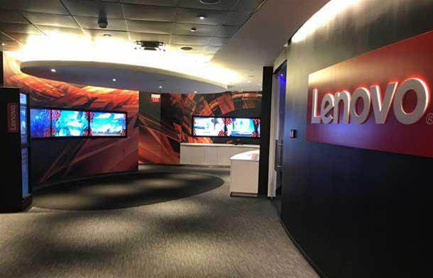 Inside Lenovo's data centre executive briefing facility