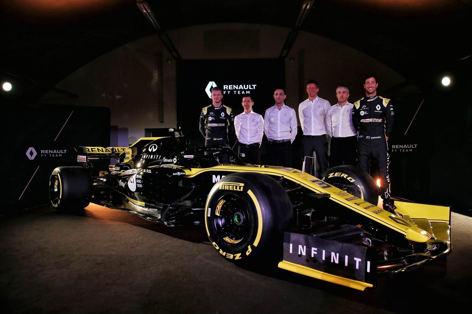 Pic special: Ricciardo's Renault F1 revealed