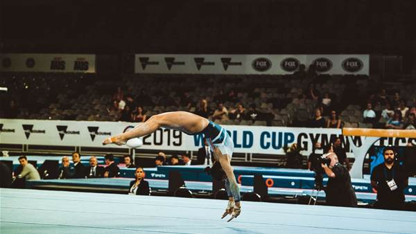 Photographers pick: World Cup Gymnastics