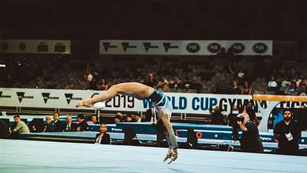 Photographers pick: World Cup Gymnastics