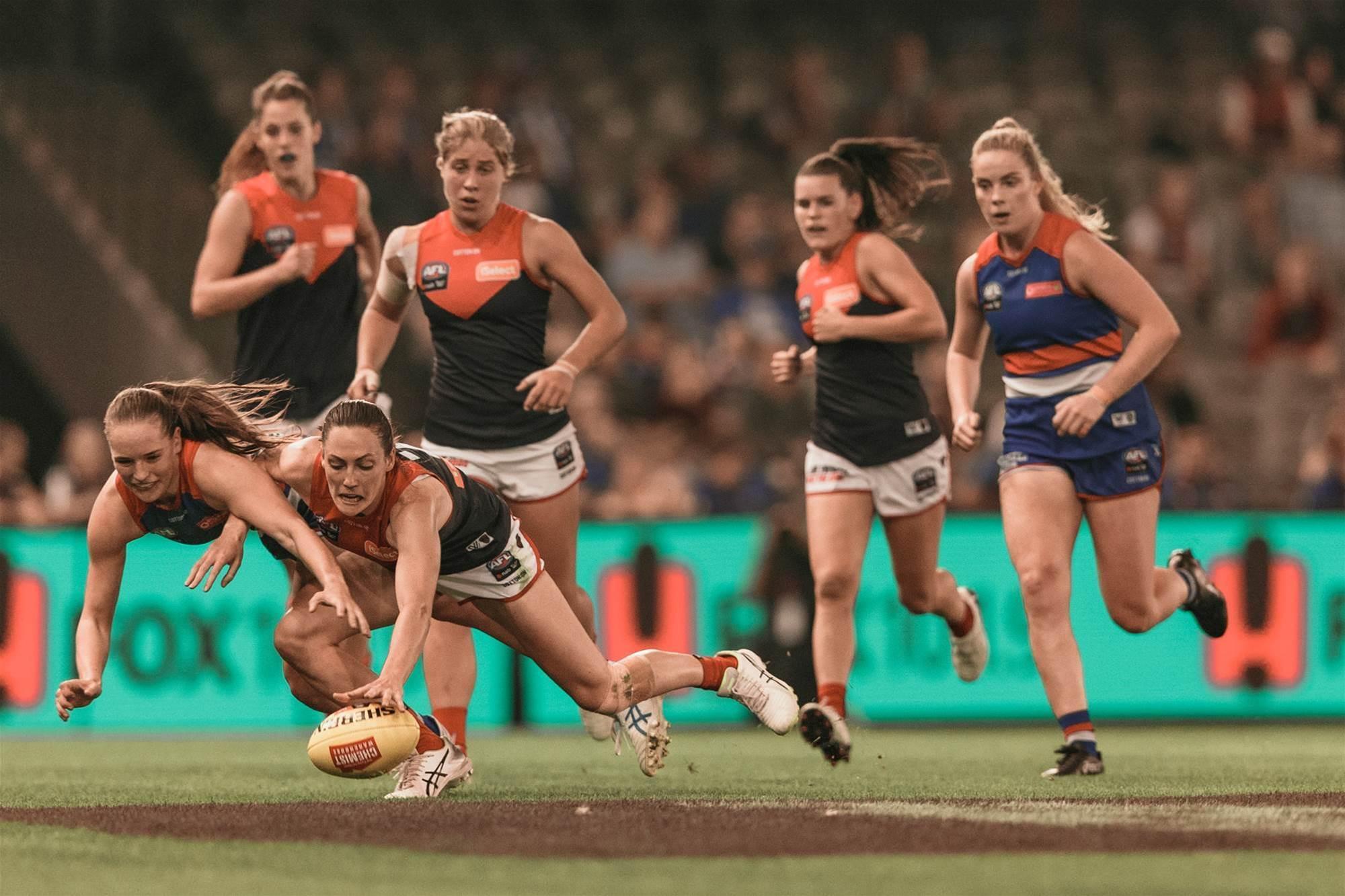 AFLW pic special: Bulldogs v Melbourne