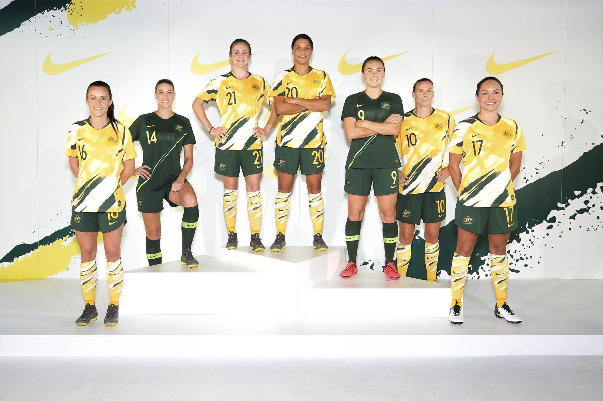 Revealed! The new Matildas kit - pic special