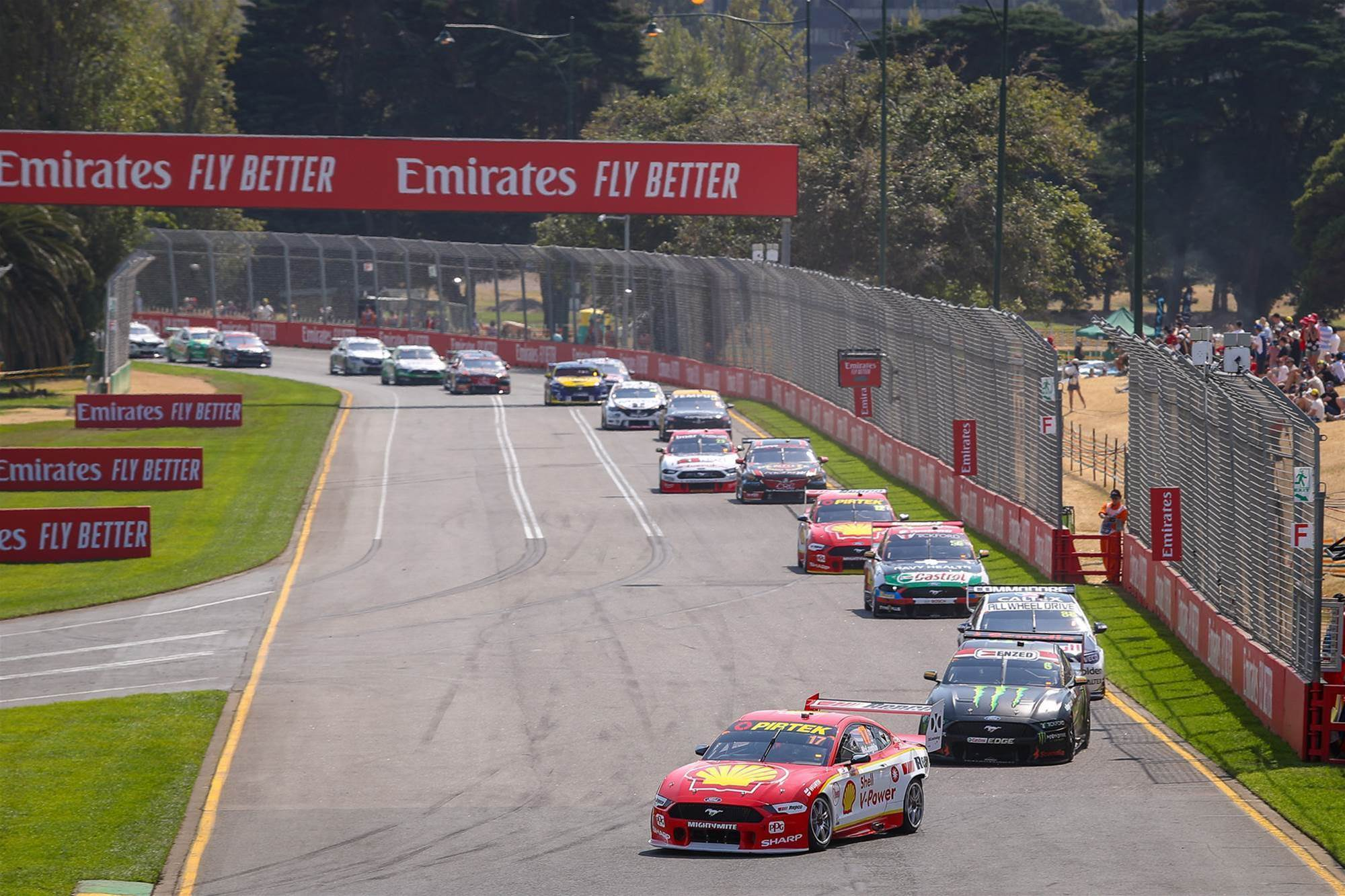 Pic special: Albert Park Supercars