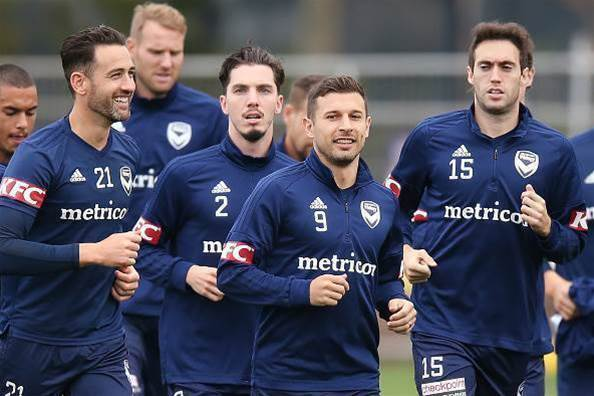 Pic special: Melbourne Victory training