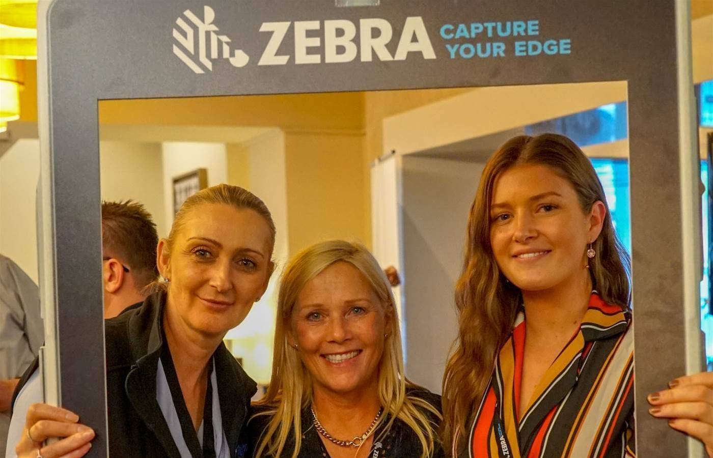 Who was spotted at Zebra's ANZ Partner Roadshow?