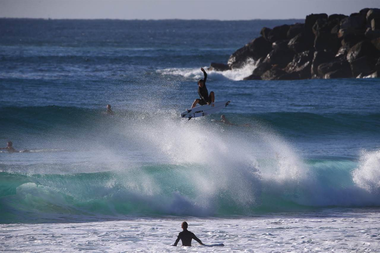 The D'bah Freesurf Show, and Taj Back for the Quik Pro?