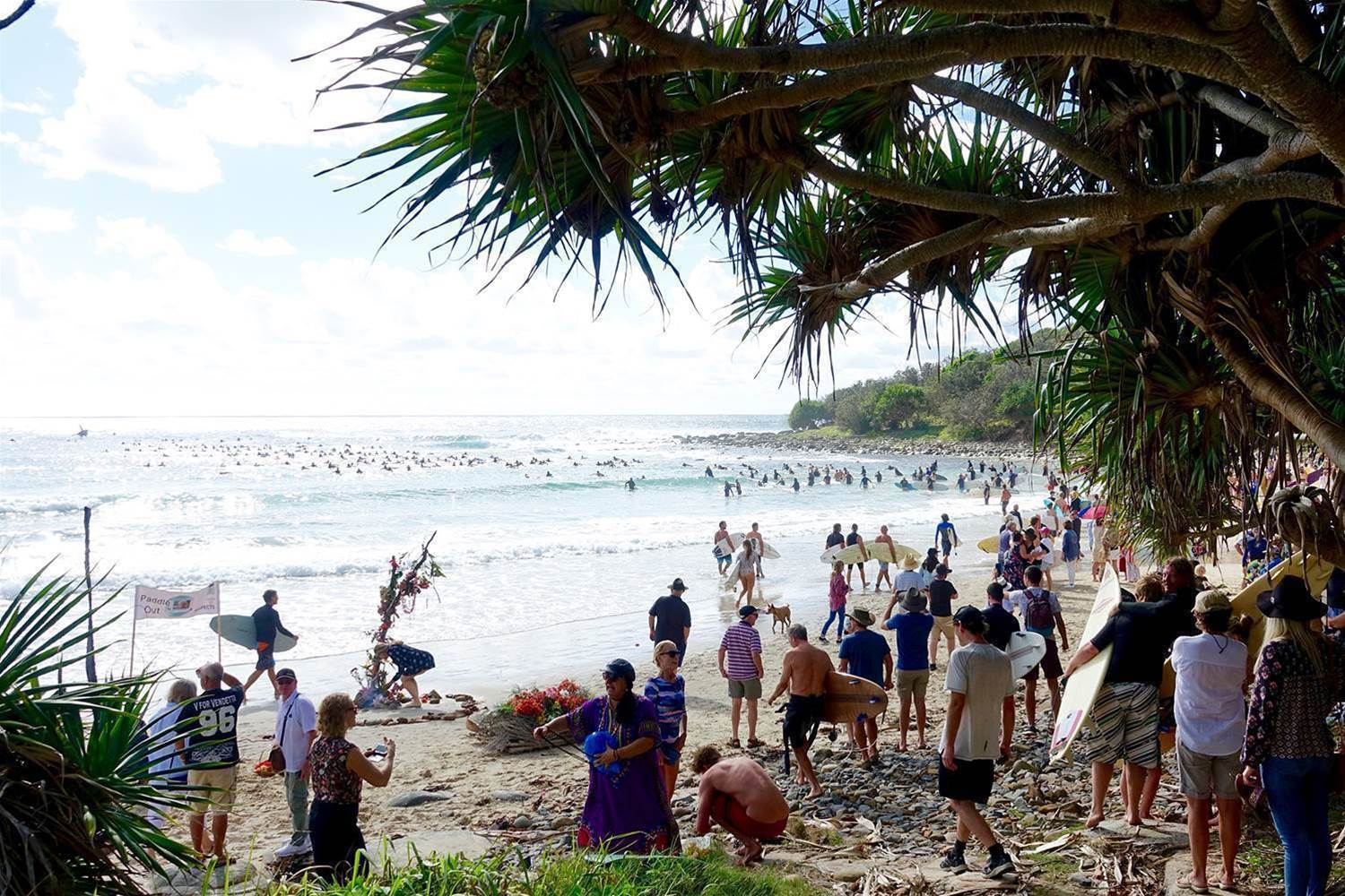 Gallery & Tribute: Baddy's Paddle Out