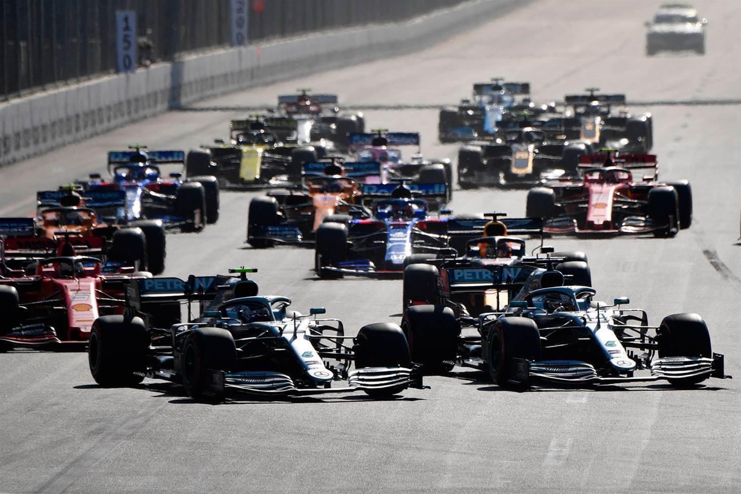 Pic special: Baku F1