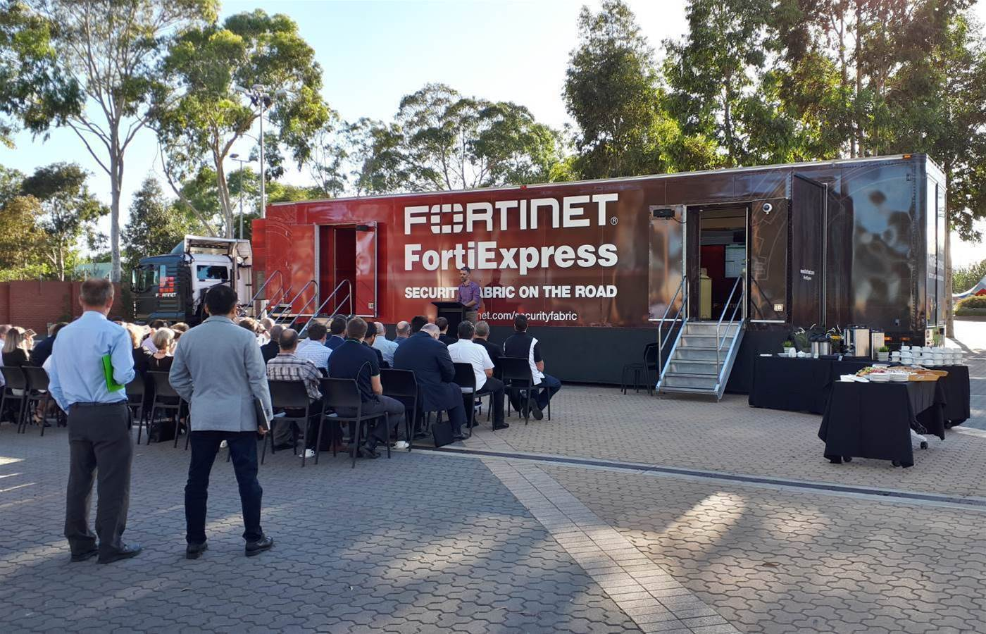 Fortinet takes FortiExpress truck on nationwide tour