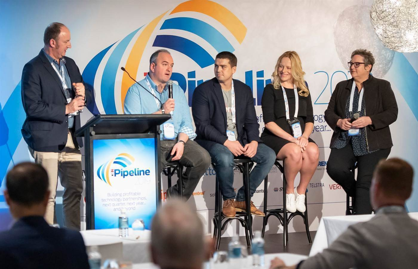 Who was spotted at CRN Pipeline Melbourne 2019?