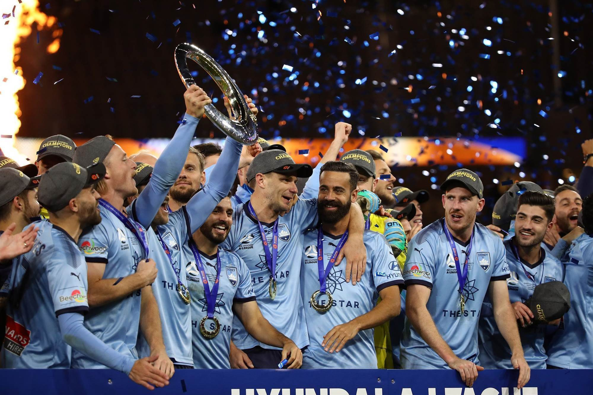 Pic special: A-League Grand Final action