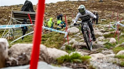 Rain be gone - DH World Cup RD 2 - Fort William