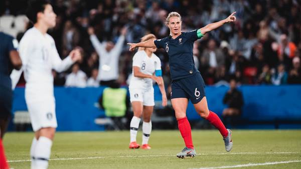 WWC Gallery: France vs South Korea