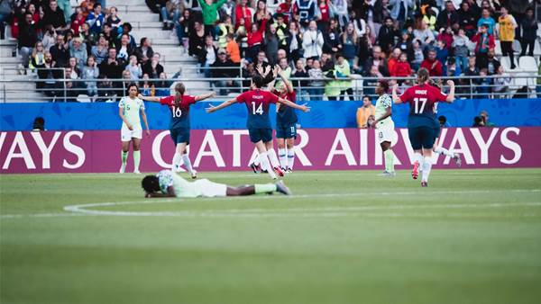WWC Gallery: Norway vs Nigeria