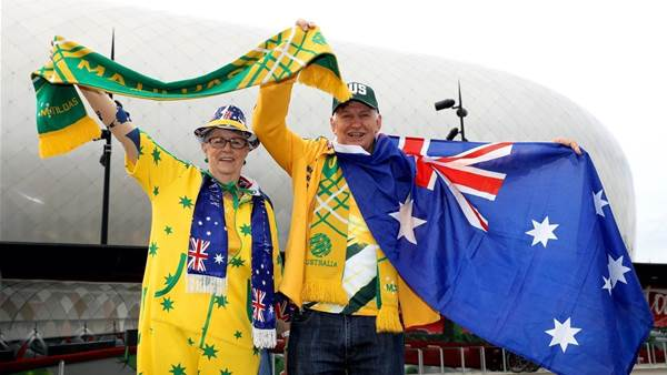 In pics: Australia vs Italy