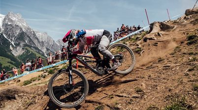 Tracey Hannah wins Leogang Downhill World Cup!