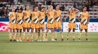 WWC Gallery: Matildas vs Norway