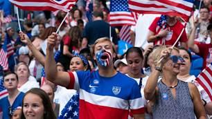 WWC Gallery: England vs USA