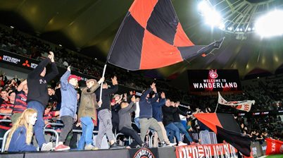On the sidelines: Epic Western Sydney Wanderers vs Leeds United gallery